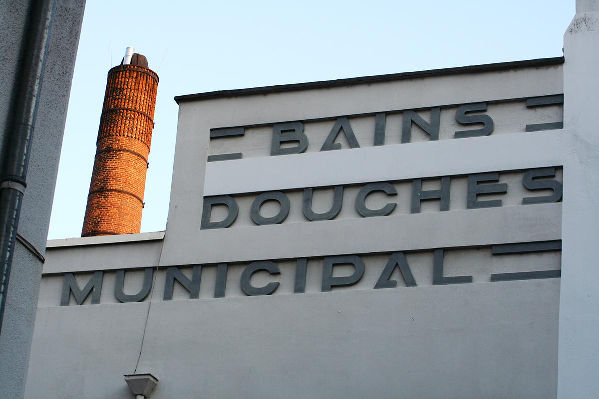 Le bain douche graph ine agence de communication paris lyon - Bains douches municipaux ...