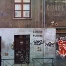 Typo old school facade