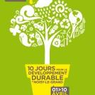 Affiche écologie développement durable