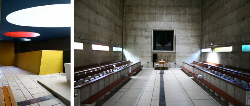 Le corbusier couvent de la tourette for Interieur d un couvent streaming