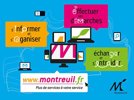 Campagne d'affichage Montreuil.fr