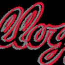La différence entre les deux (en rouge les tracés du nouveau logo)