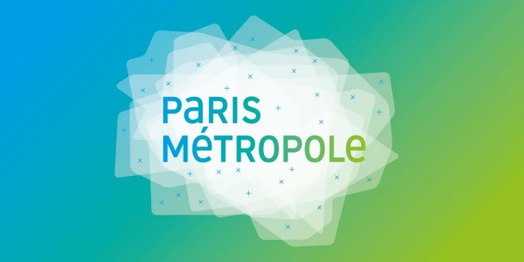 Identité visuelle de Paris Métropole, une centaine de collectivités, communes, intercommunalités, Départements, Région, qui se sont rassemblés pour trouver ensemble des réponses aux défis sociaux, économiques, environnementaux de leur territoire partagé.