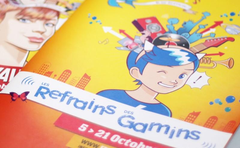 création graphisme communication festival pour enfants