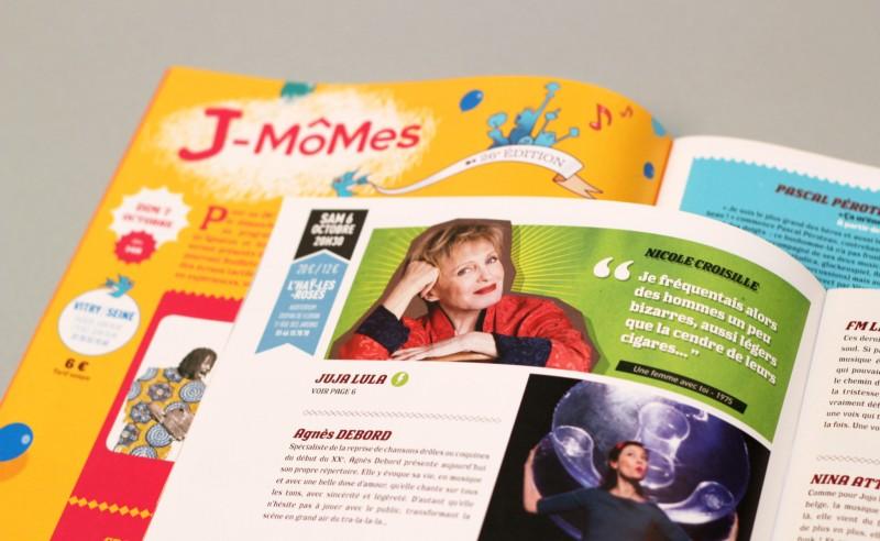 graphisme programme festival pour enfants