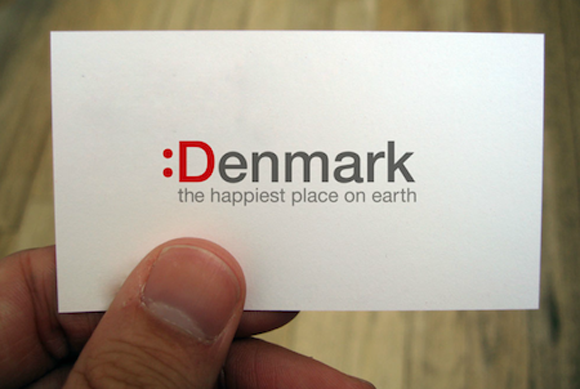 L'identité :Danemark créée par Trolbäck+Company en 2007
