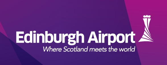 Le nouveau logo de l'Aéroport d'Édimbourg
