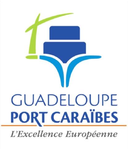 Le nouveau logo de Guadeloupe Port Caraïbes