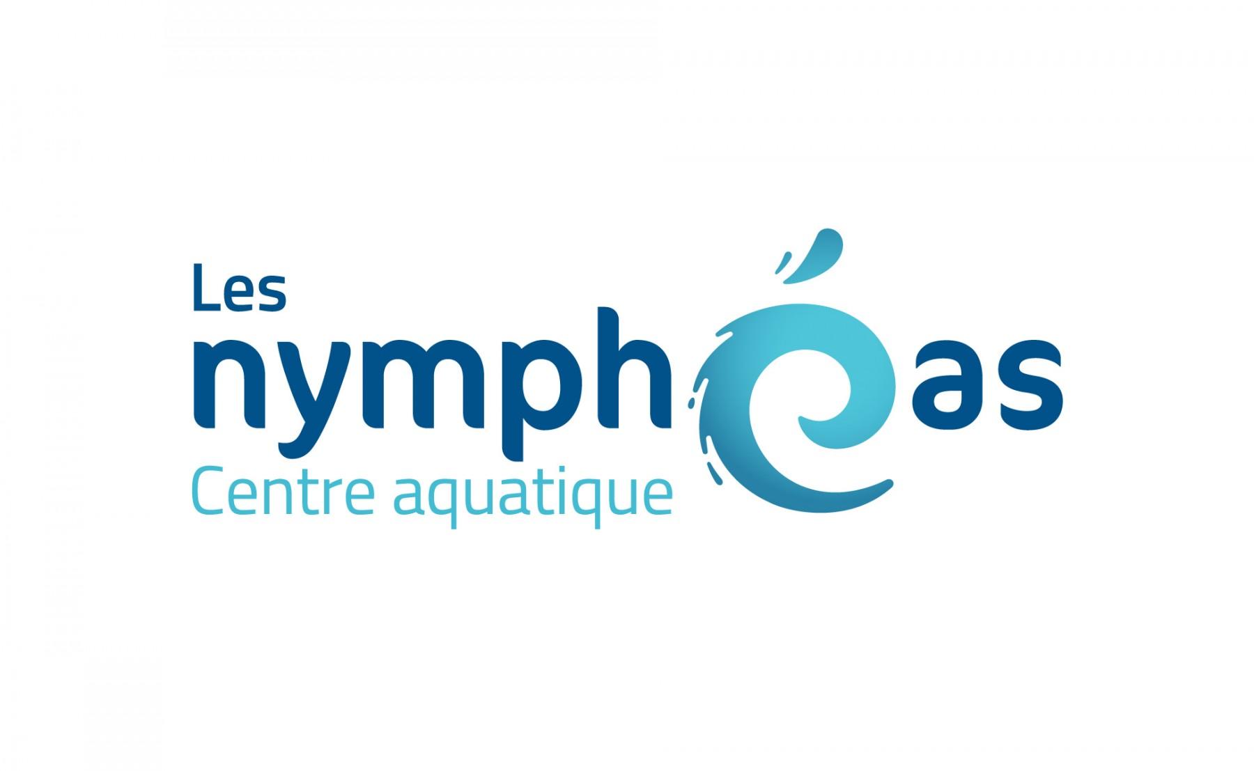 Identit visuelle centre aquatique les nymph as for Piscine noisy le grand