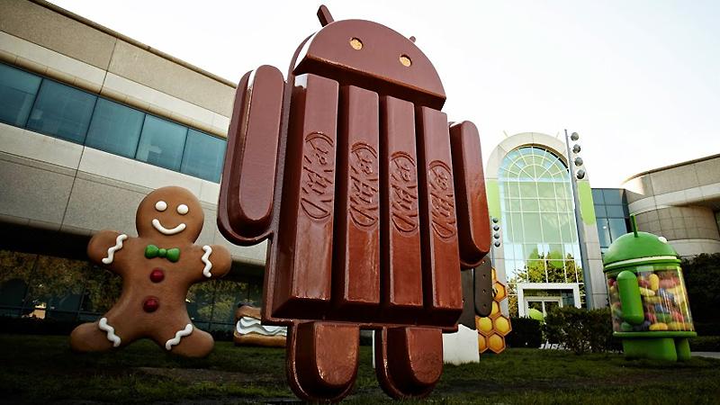 Android-KitKatStatue
