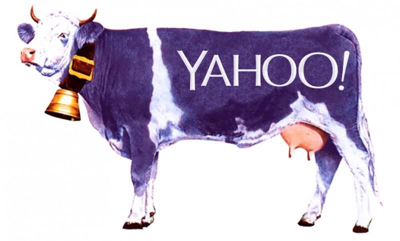 Aïe ! Ooh ! le nouveau logo YahoO !