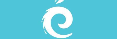 Création du logo du centre aquatique Les Nymphéas. Identité visuelle pour un équipement sportif public.