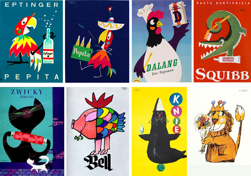 Leupin-animals-poster
