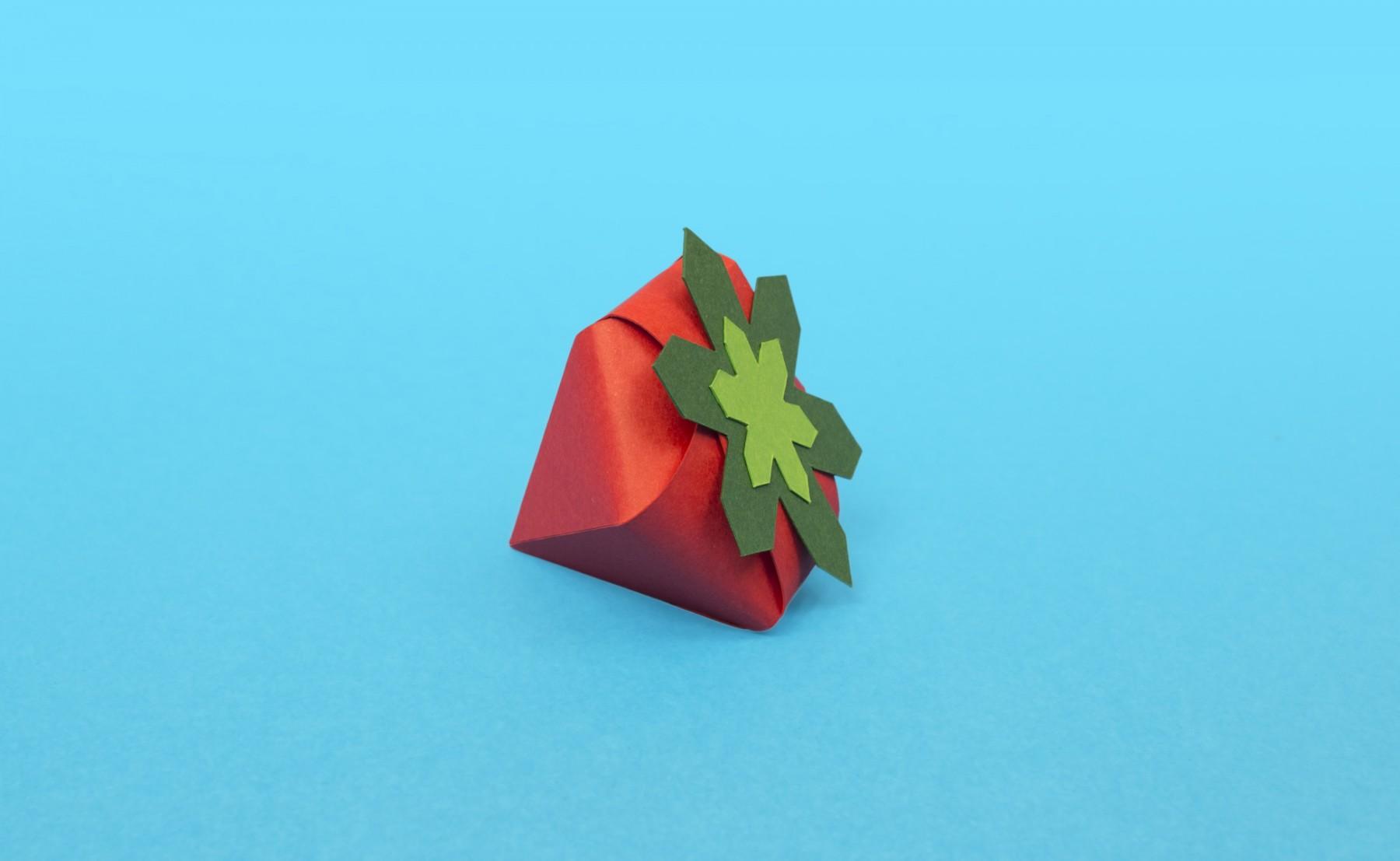 fraise-papier