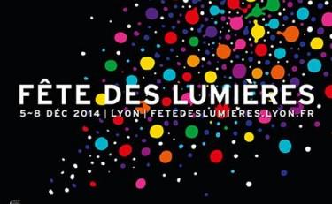 Affiche fête des lumières 2014
