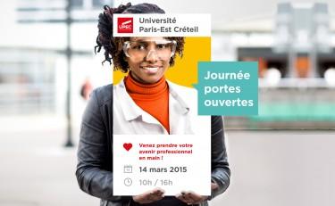 Affiche portes ouvertes université