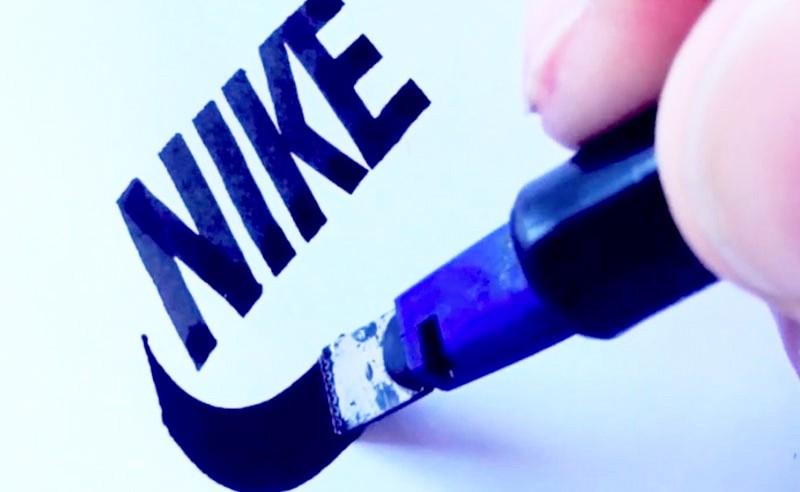 Branding calligraphique