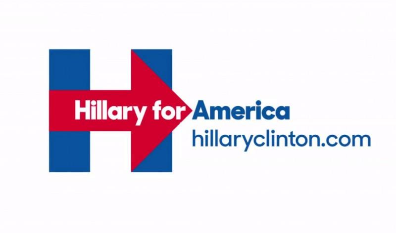 Doit-on être hilare du logo d'Hillary ?
