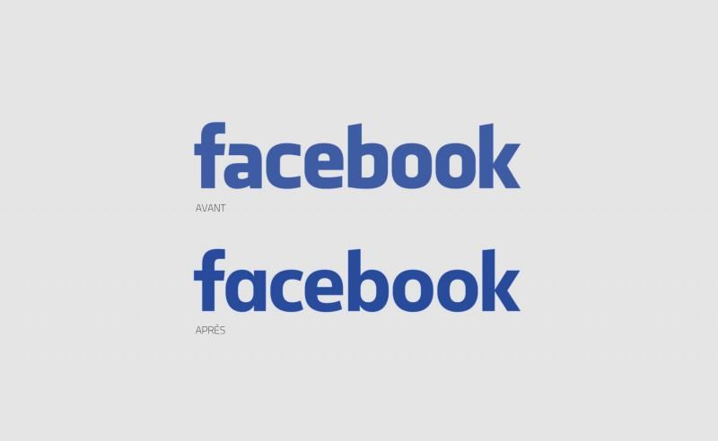 Facebook relook son logo