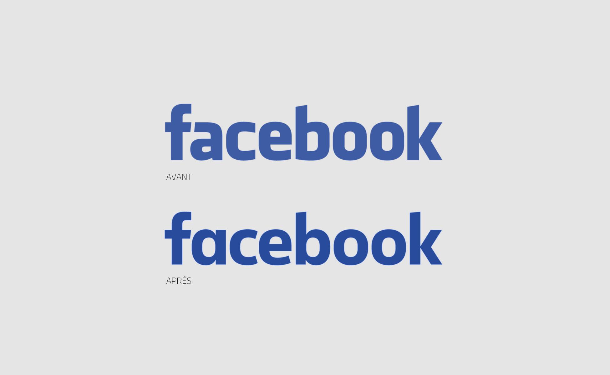 Bien connu Rebranding of the facebook logo - Graphéine - Agence de  PZ26