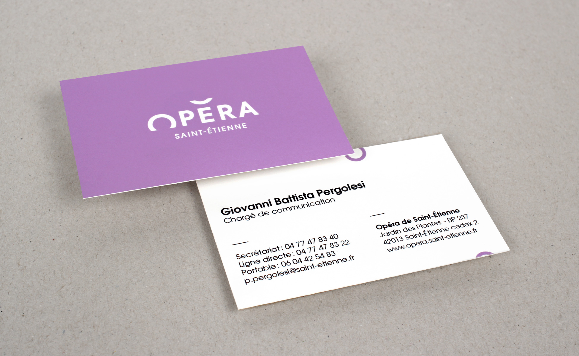 New branding of the Sainttienne Opera House