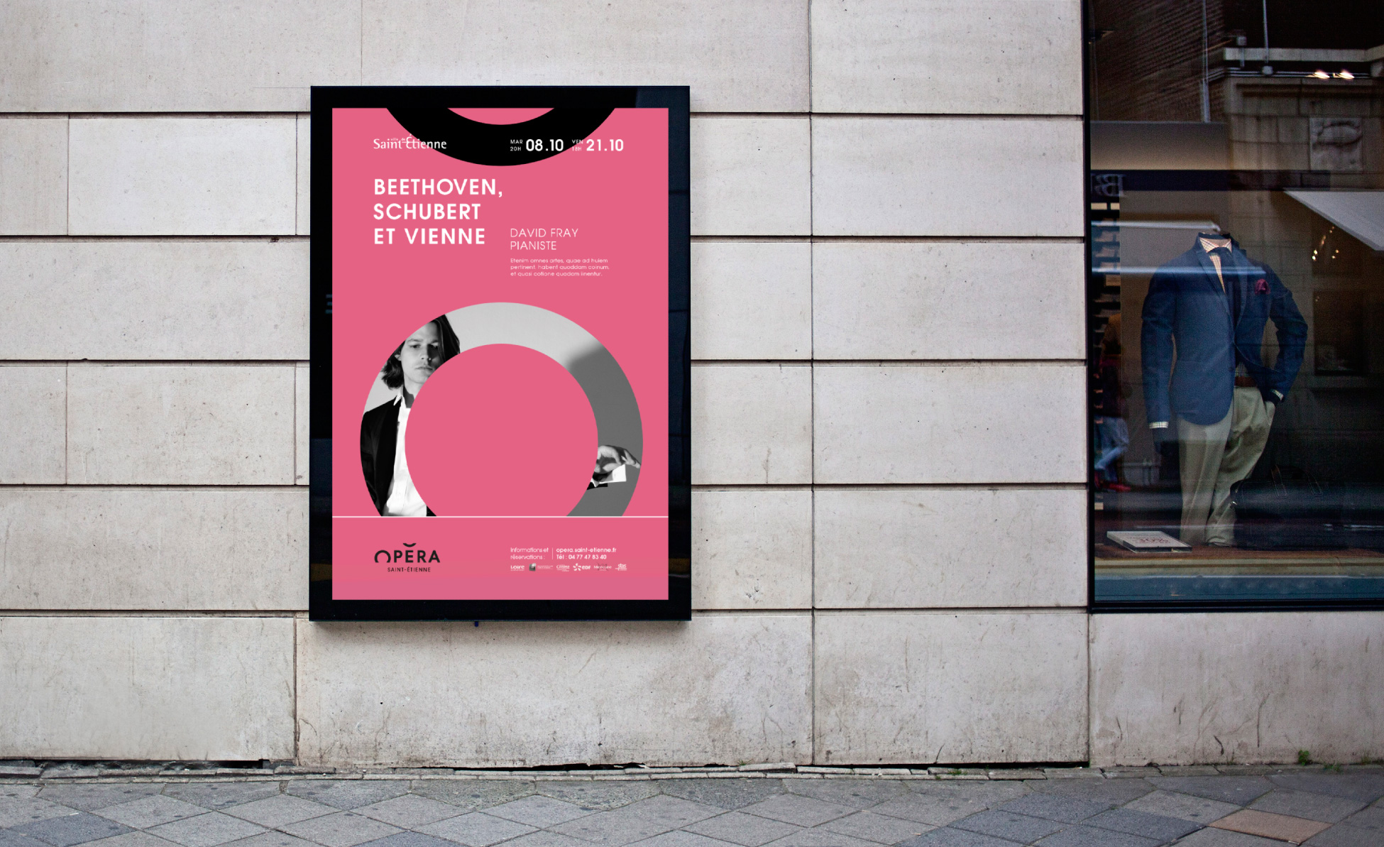 New branding of the Sainttienne Opera House