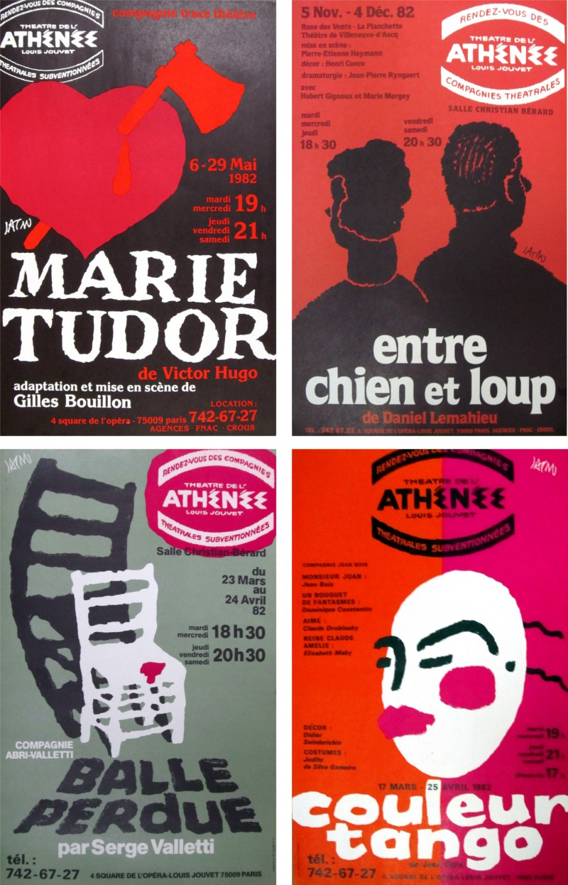 jacno-athenee-theatre-affiches