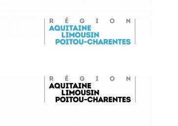 Le logo provisoire de la région Aquitaine-Limousin-Poitou-Charentes.