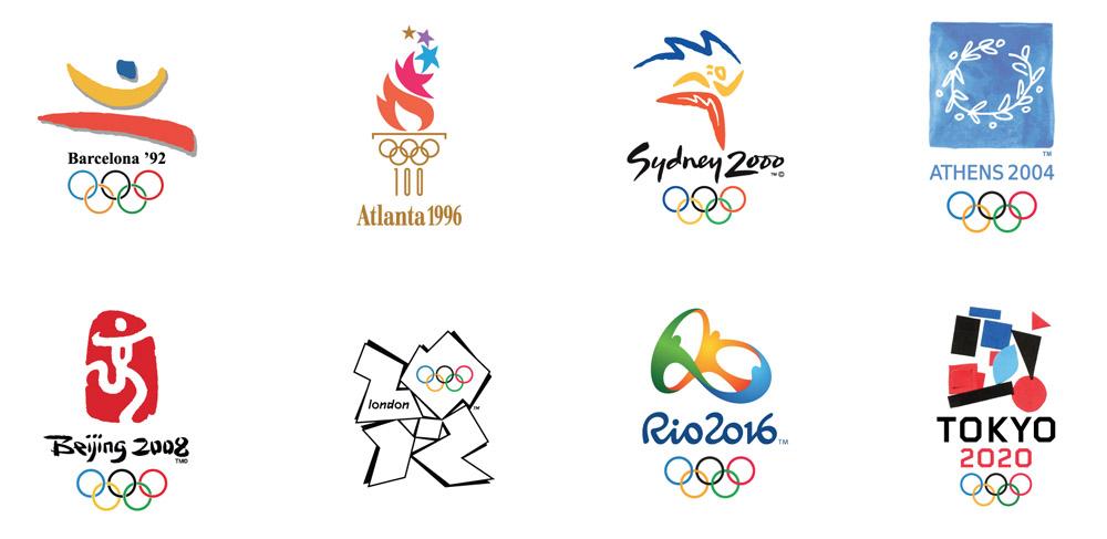 Le logo des Jeux olympiques de Tokyo par des enfants - Graphu00e9ine ...
