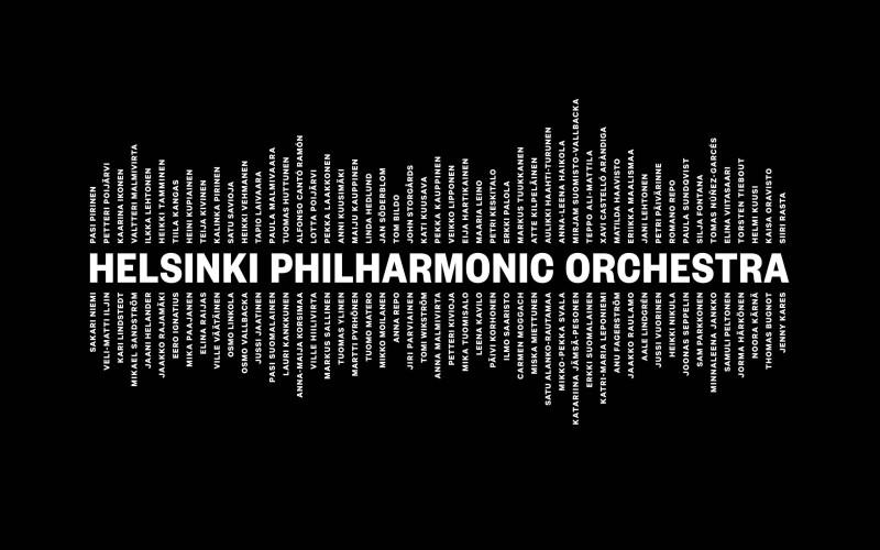 102 noms dans un logo d'orchestre !