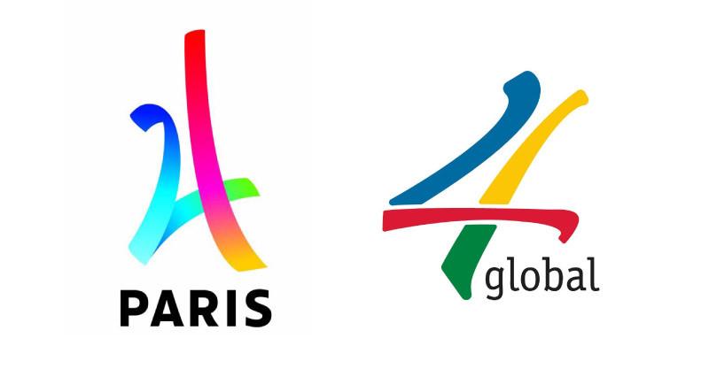 Pas de plagiat pour le logo de Paris 2024 !