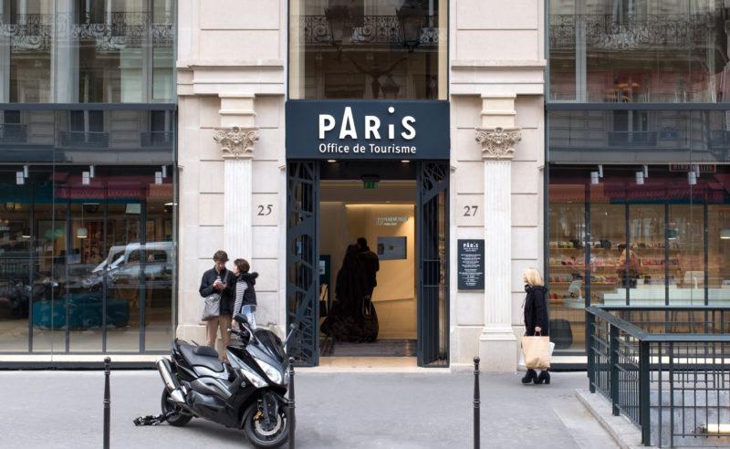 Charte graphique de l 39 office du tourisme de paris graph ine agence de communication paris lyon - Office du tourisme lyon telephone ...