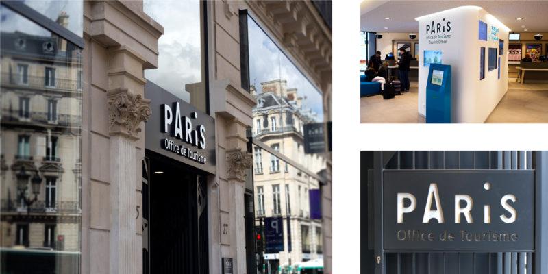 Charte graphique de l 39 office du tourisme de paris - Office du tourisme canadien a paris ...