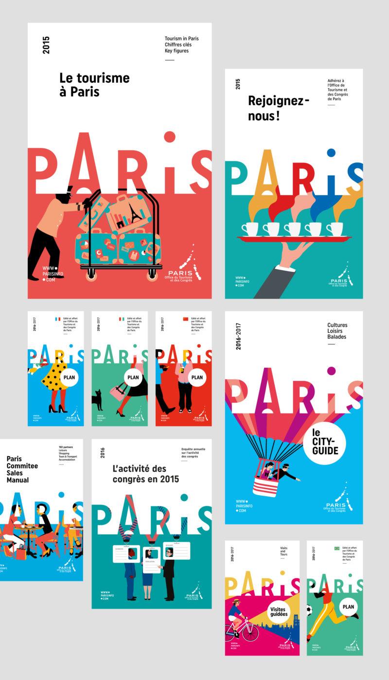 Charte graphique de l 39 office du tourisme de paris - Office de tourisme et des congres de paris ...
