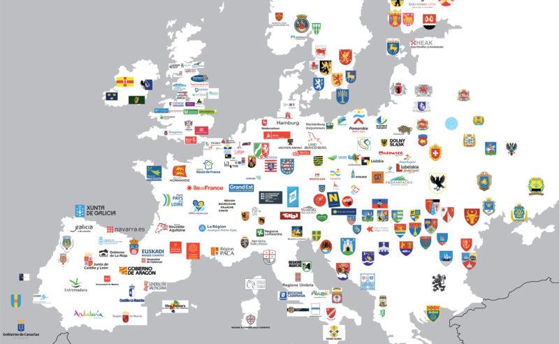 L'Europe et ses identités visuelles régionales