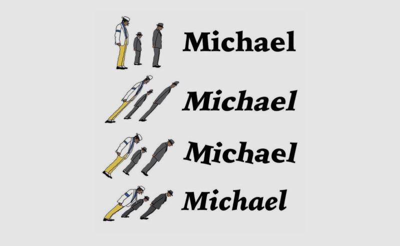 Un cours de typographie avec Michael Jackson !
