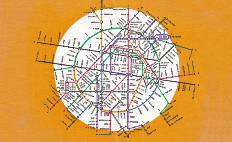 Évolution du plan de métro de Paris : du plat de spaghetti à la cité futuriste