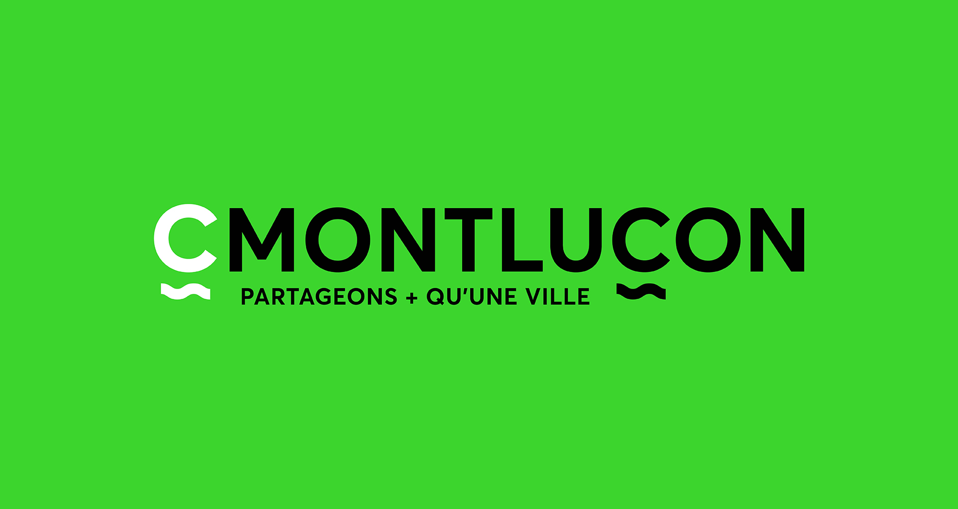 Image de l'identité du projet CMontluçon réalisé par l'agence Graphéine