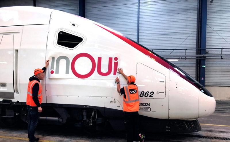 Inoui ! Le nouveau logo des TGV…