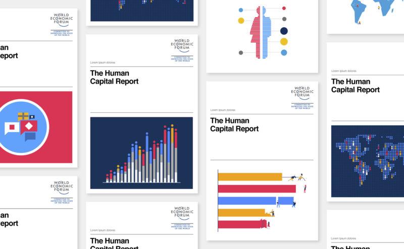 Des illustrations pour le World Economic Forum