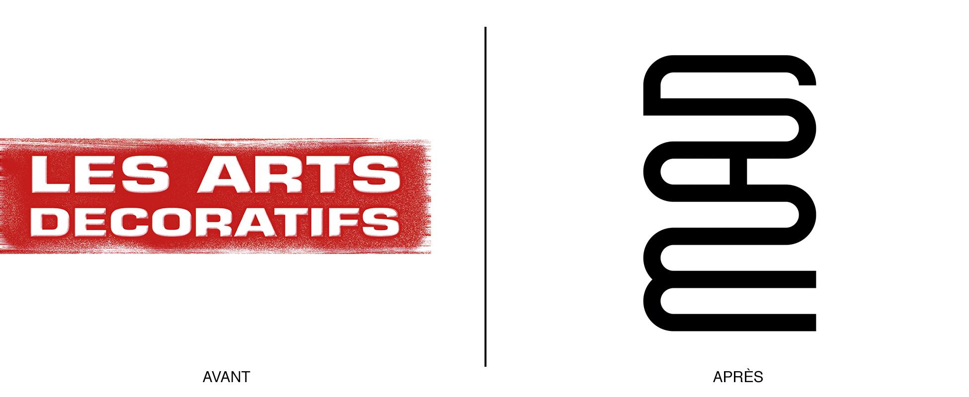 Un logo fou pour le mus e des arts d co graph ine agence de communication paris lyon - Le musee des arts decoratifs ...