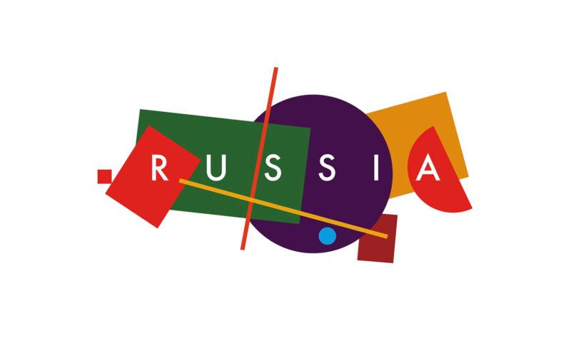 Un logo constructiviste pour le tourisme russe