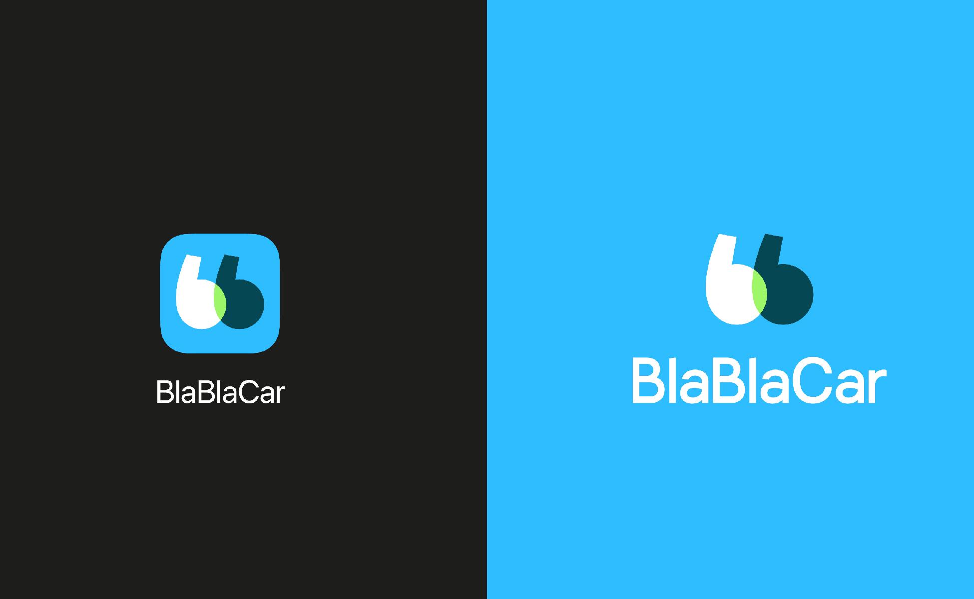 le nouveau logo de blablacar vous souhaite bonne route. Black Bedroom Furniture Sets. Home Design Ideas