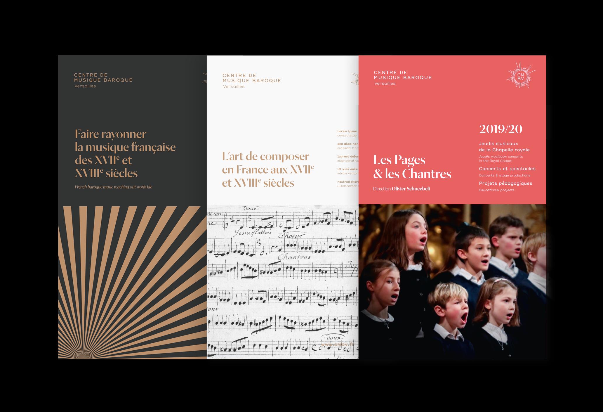 CMBV, brochures